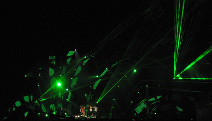 Musical concert lighting