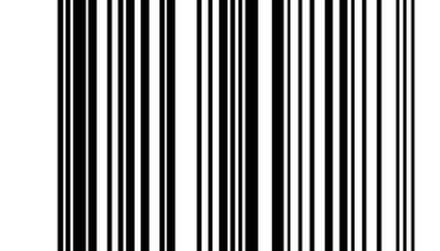 Barcodes are embedded with a specific code to identify an item.