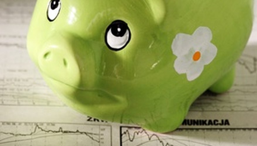 Piggy banks are a good way to save small cash funds for a rainy day, but you may want to consider a different saving option for large amounts of money.
