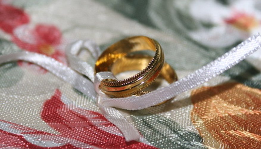 You can perfect a magic trick involving wedding bands.
