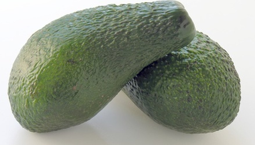 Avocadoes grow in warm climates.