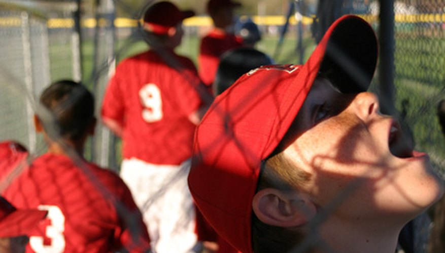 Youth baseball leagues rely on sponsorships to pay the bills.