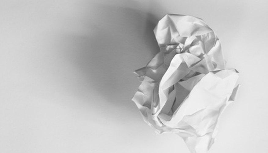 Las montañas de papel pueden ser creadas para enseñar a los niños sobre la geografía.