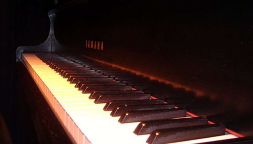 Striking a piano key softly produces a different sound than pounding it does.