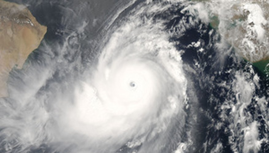 Hurricanes and typhoons are regional terms for tropical cyclones.