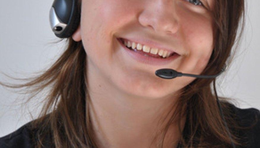 Trabalhadores de call center precisam ficar positivos e motivados