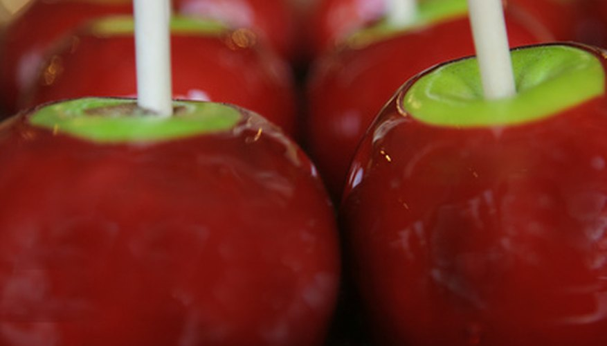 Use fresh gala apples to make sugar-free candied apples.