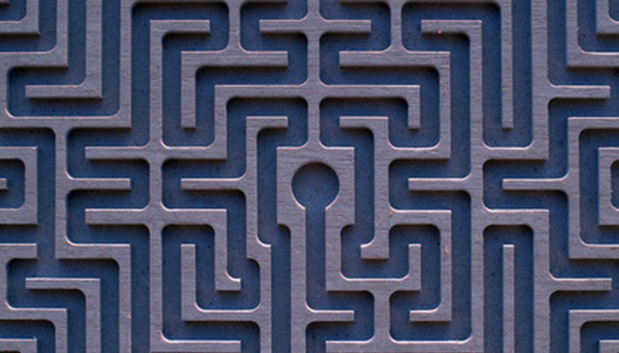 A labyrinth is a tool for meditating and creating a sense of inner peace.