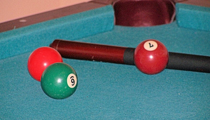 Two or more players can play pool golf.
