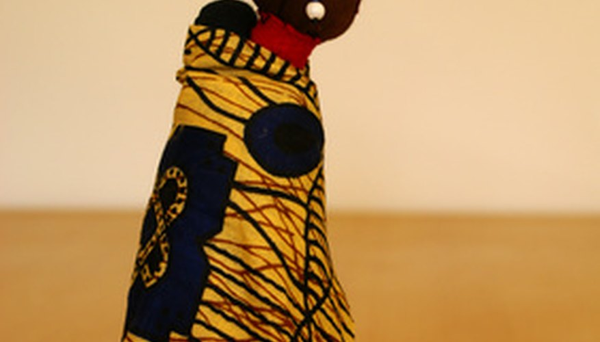 Muñeca tradicional africana de Suazilandia.