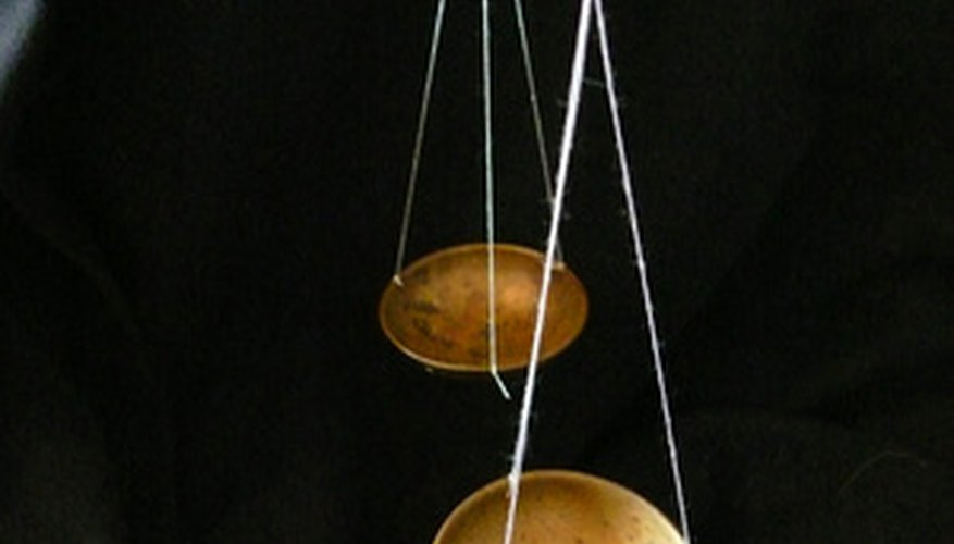This is an example of a balance scale that can compare two different objects.