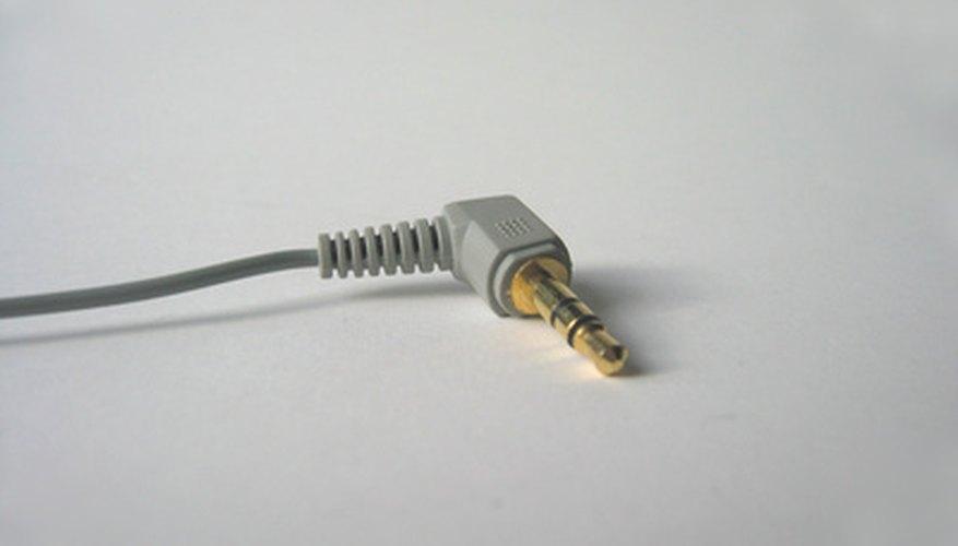 La mayoría de los transmisores inalámbricos usan una clavija estéreo de 3,5 mm como ésta.