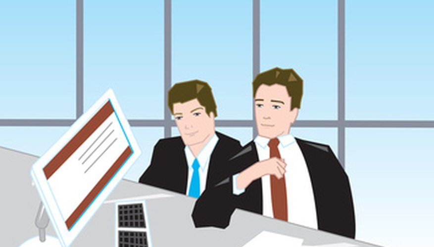 Business owners may choose to employ auditors for performance reviews.