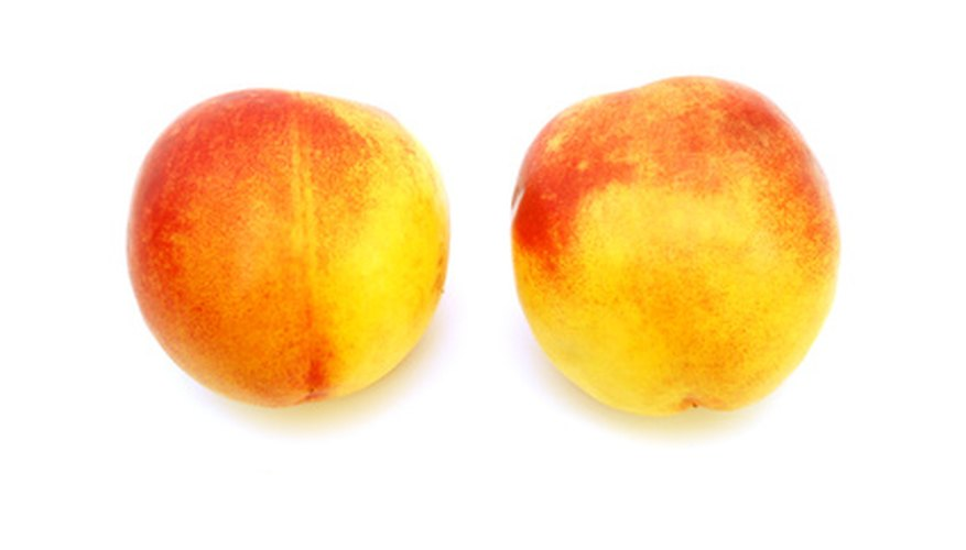 Correct pruning of peach trees is important for a good peach crop.