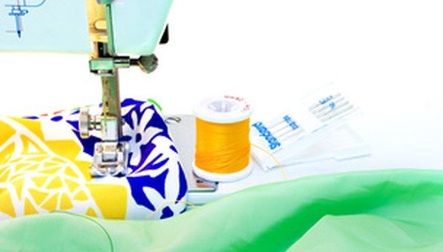 Las máquinas de coser hacen que la costura sea más precisa.