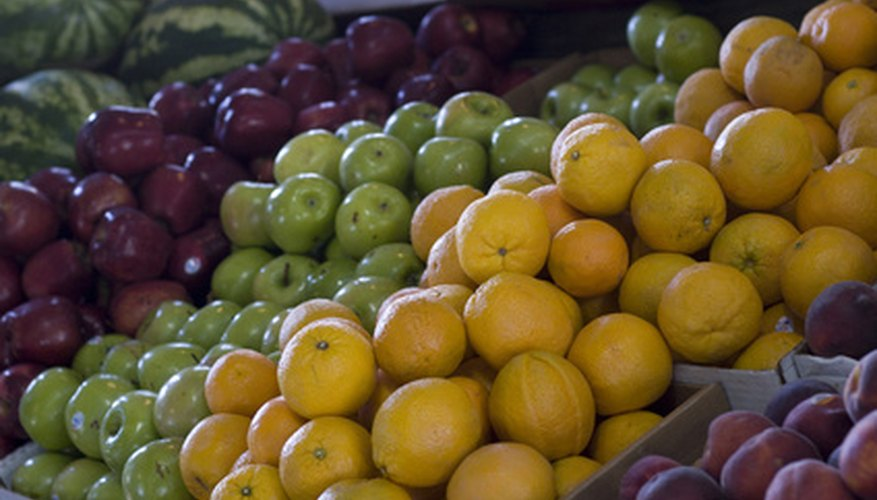 Fruit is treated with olefins before sent to the market