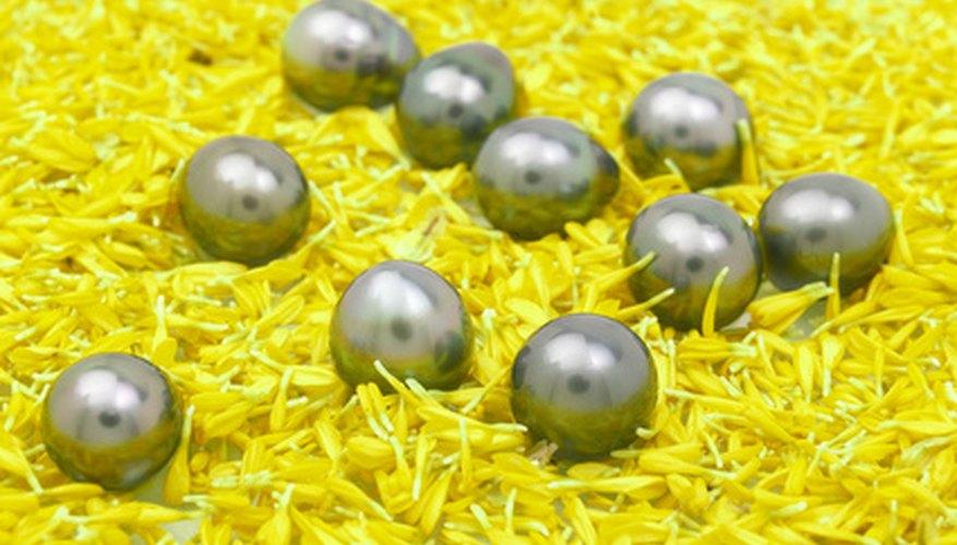 Una sola perla natural se puede vender a cientos de dólares.