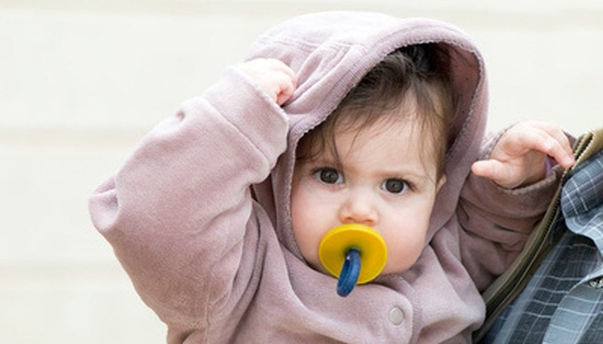 Sterilizing pacifiers helps kill germs that may otherwise end up in your baby's mouth.