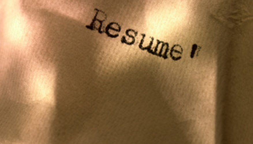 Resume writing can be frustrating.
