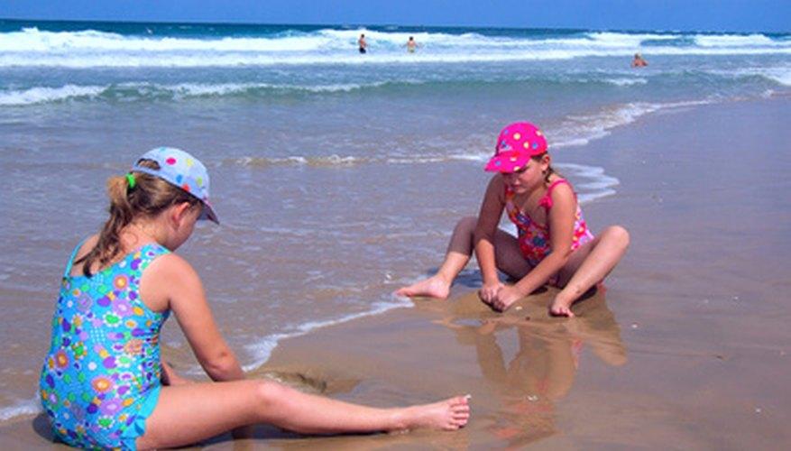 La playa Steward ofrece actividades aptas para toda la familia.