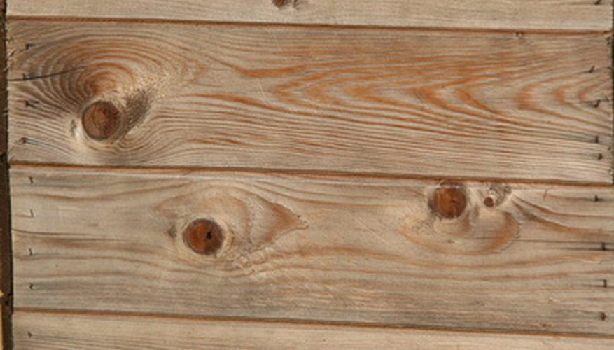 Wood's surface must be sealed to make it water-resistant.