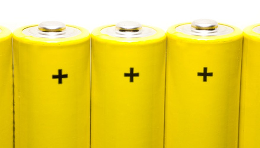 Rechargeable battery packs commonly produce 1.2 volts per cell.