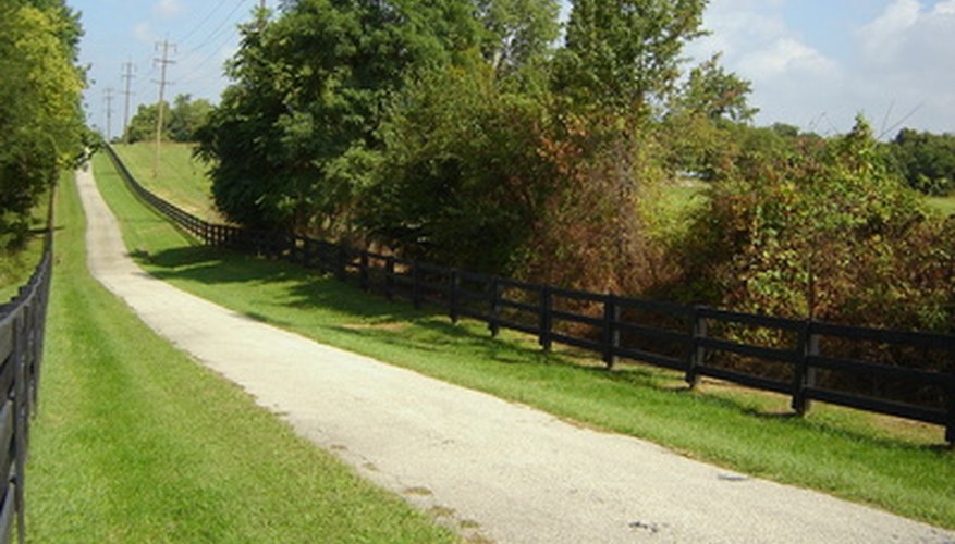 Landscape your rural acreage to enhance beauty and increase function.