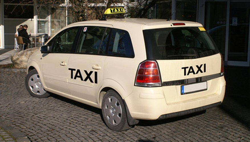 A one-person taxi service can be profitable and successful.