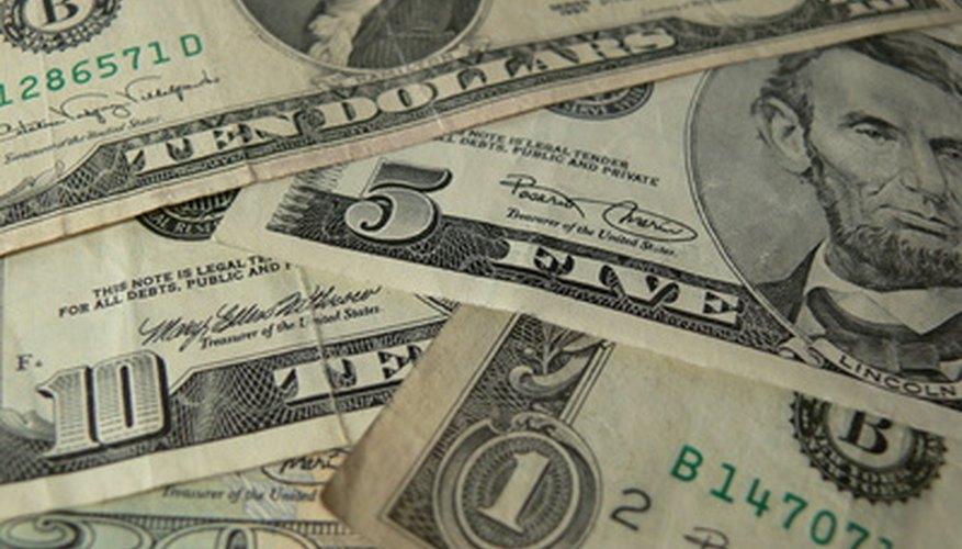 Los billetes tienen varias medidas de seguridad para que sean difíciles de falsificar.