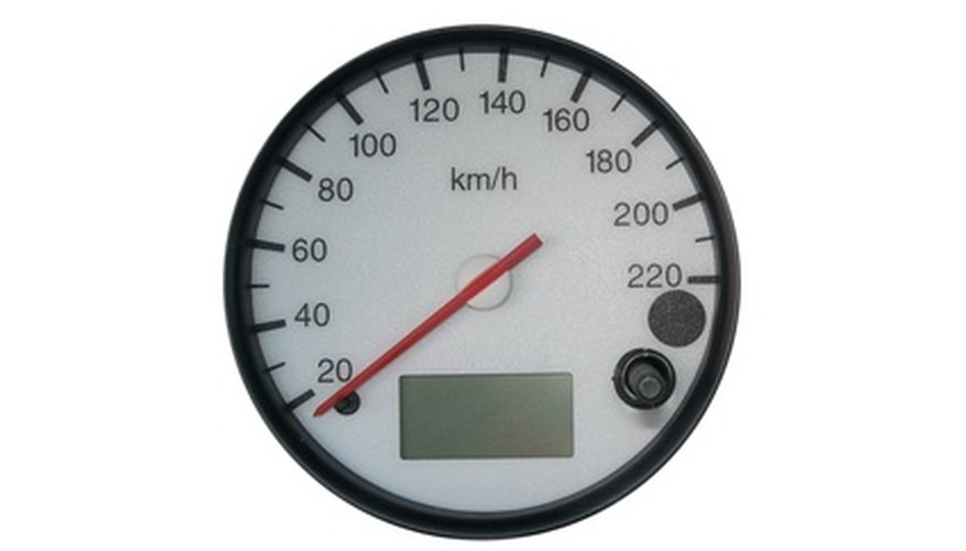 Use a tachometer to adjust the idle.
