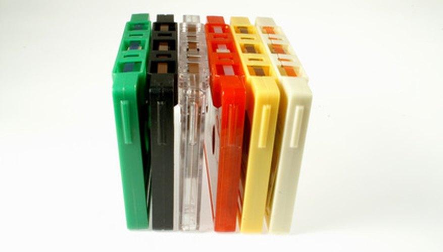 Las cintas de casete pueden quedar atascadas en los estéreos de auto.