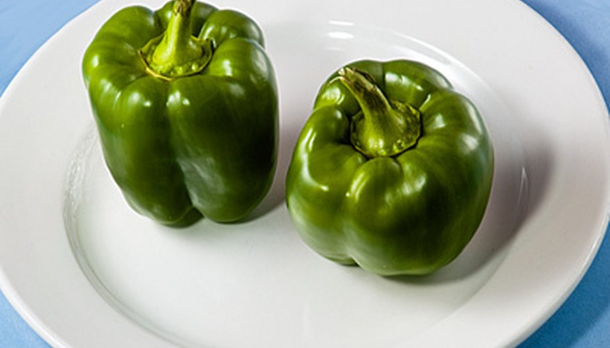 Pepper plants need warm weather and constant moisture.