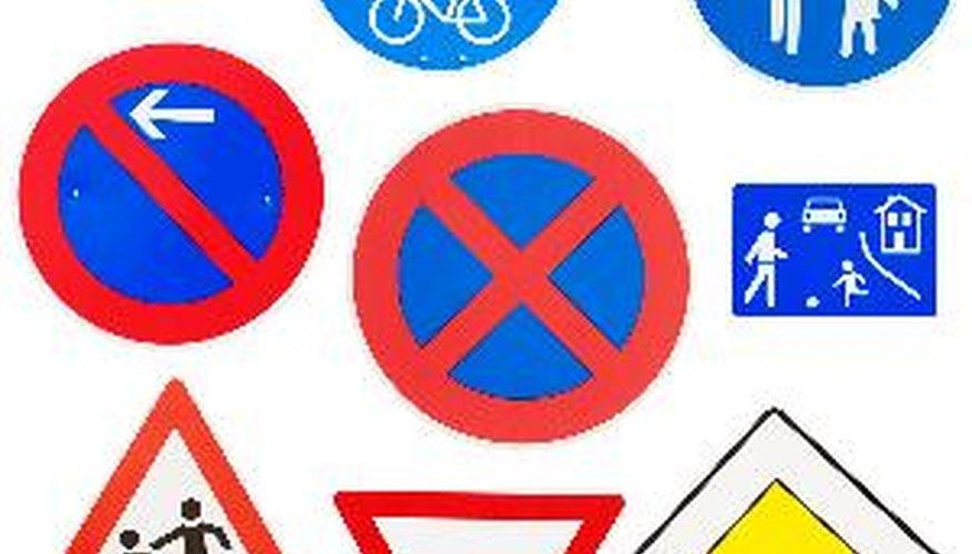 Aprende cuáles son las señales de tránsito.