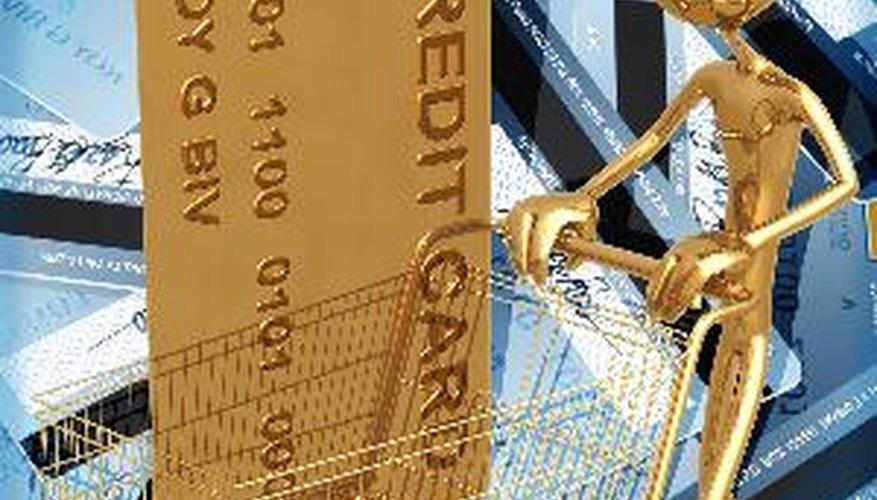 Cuando pasas tu tarjeta de crédito para hacer una compra, la cantidad necesaria se descuenta de tu crédito disponible.