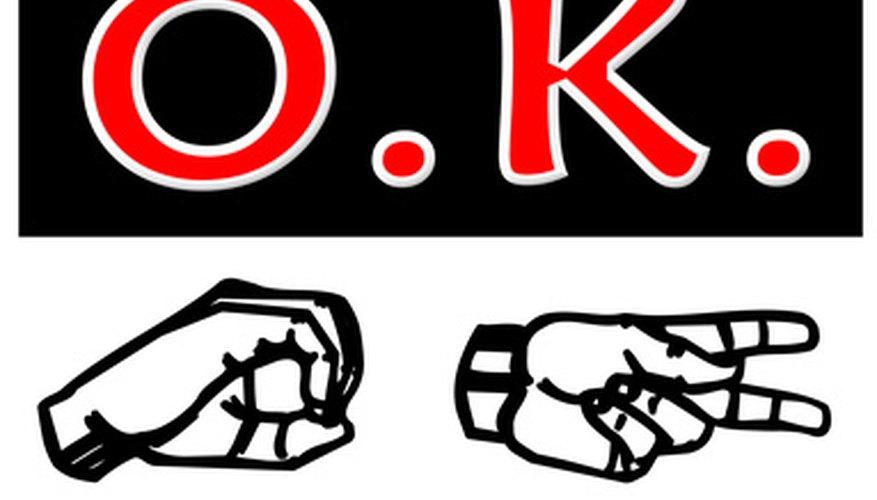 Aprender el lenguaje de señas es un juego en sí mismo.