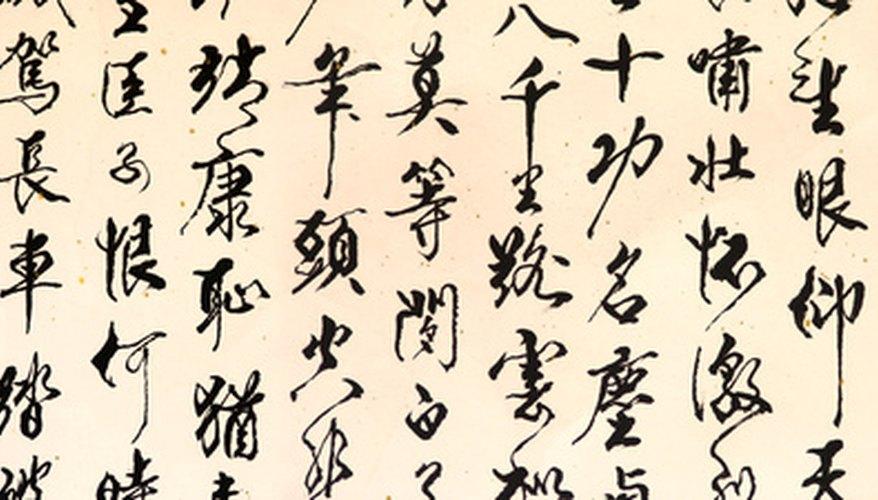 La caligrafía es el arte de la escritura que ha sido practicado por miles de años.