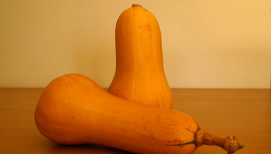 Butternut squash keeps for months and is nutritious and easy to grow--if you have the room.