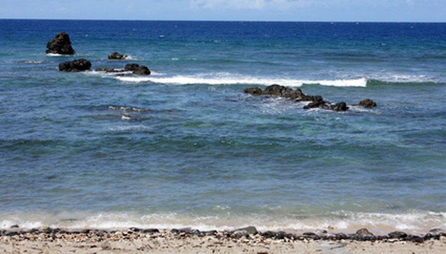 Playa en Hawái