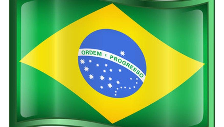 Estudiar la bandera brasileña le puede ayudar a los niños a aprender la historia de Brasil.
