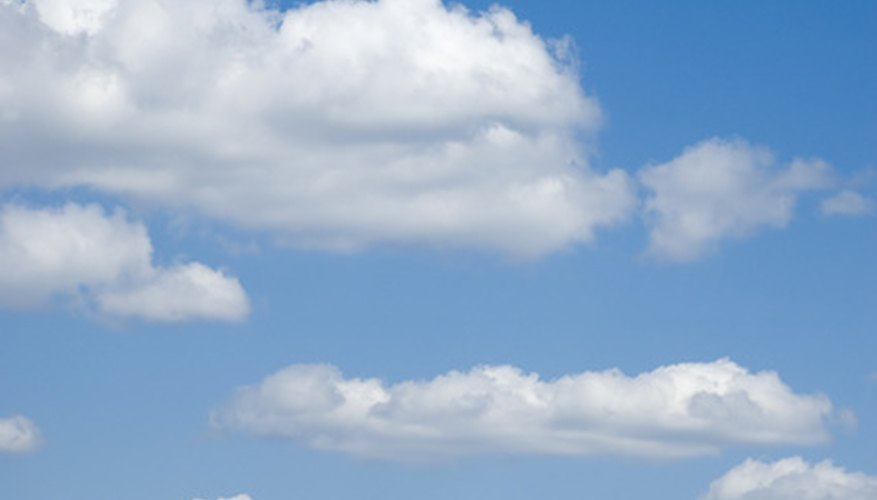 Cloud science projects will teach students about the purpose and types of clouds.