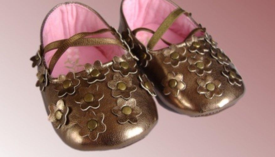 Zapatos suaves para bebés.