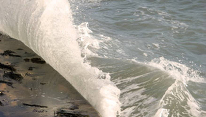 La energía de las olas.