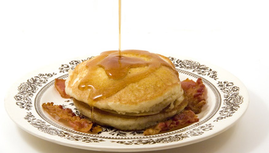 The maple syrup you use on your pancakes typically is not pure maple syrup.