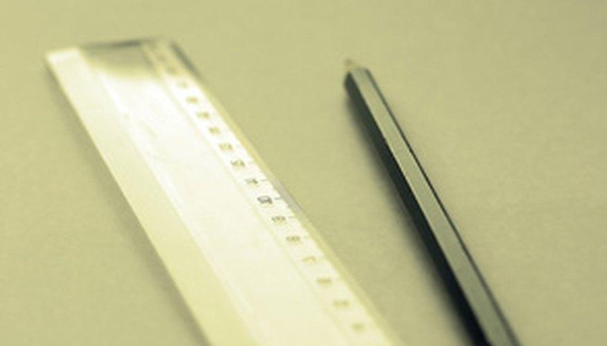 Las reglas rígidas se usan en maquinaria y fabricación de herramientas.