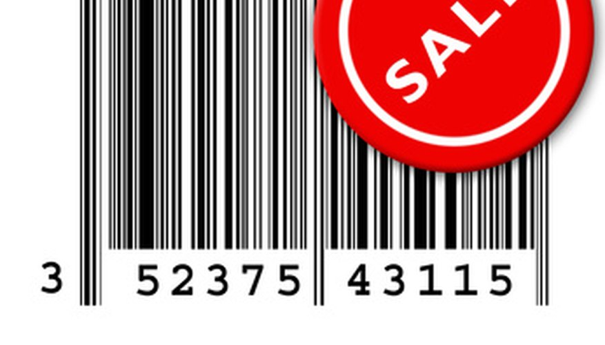 Determine a product's price from the bar code.
