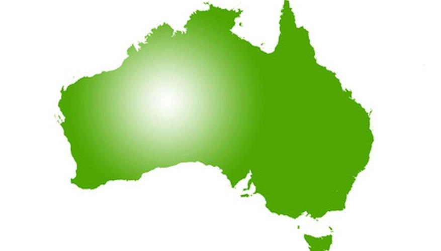 El continente australiano