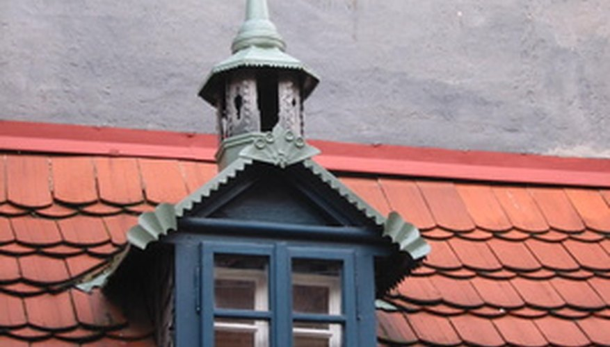 Adding details can create decorative dormer windows.