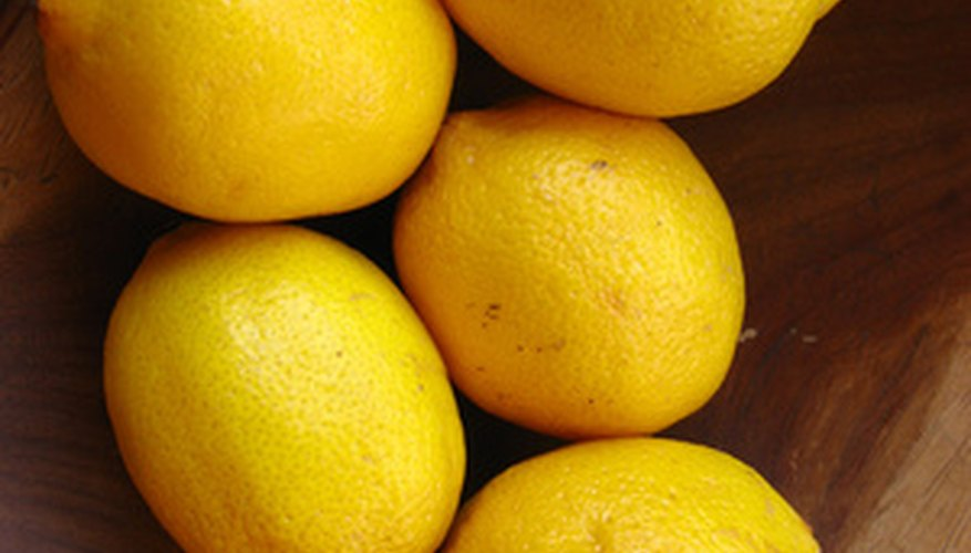 Lemon trees come in several types affecting taste and size.