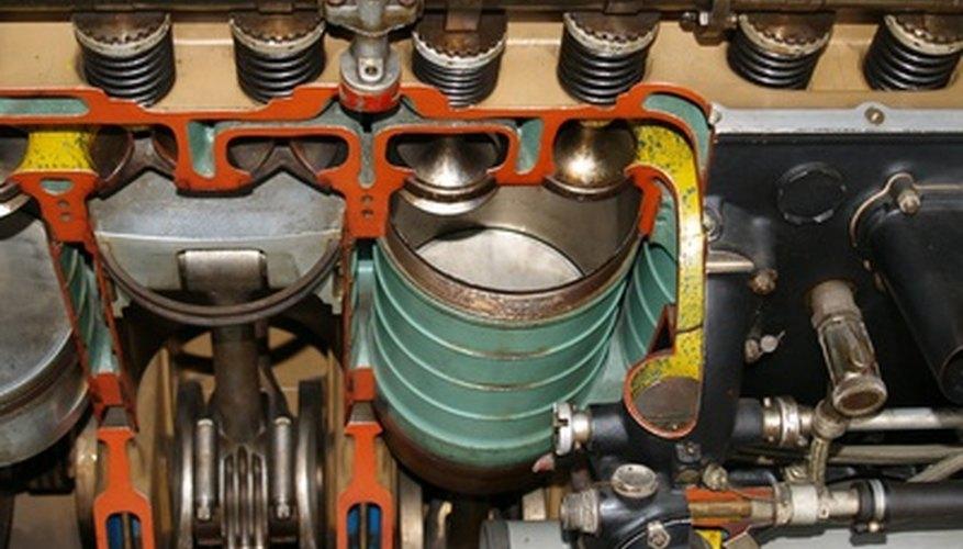 Un sistema de inyección de combustible típico.