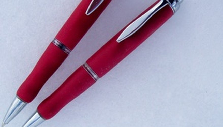 A pen with your company's name on it may be used hundreds of times.